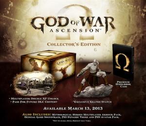 God of war Ascension l'édition collector....
