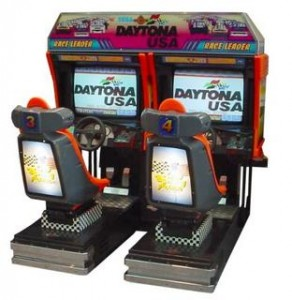 DAYTONA USA ARCADE SEGA VOITURE RACING