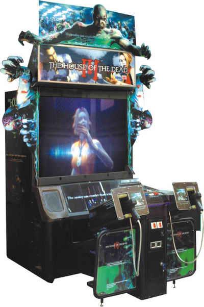 borne arcade house of the dead 3