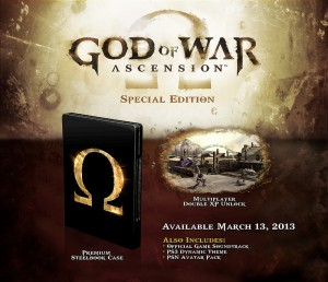 God of war Ascension édition simple....