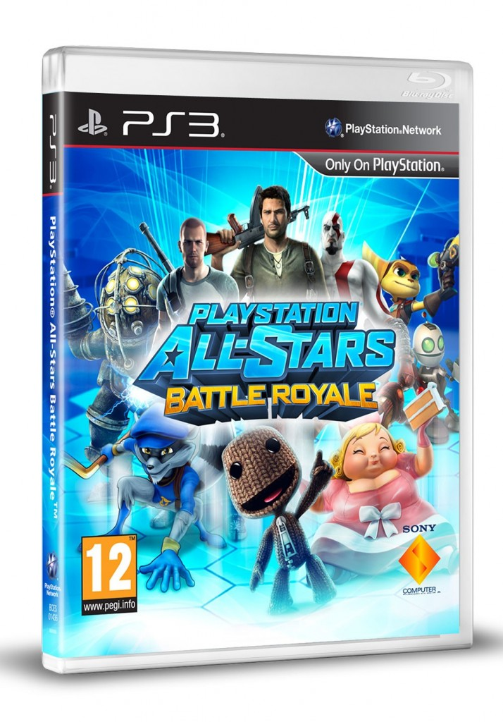 Playstation all stars battle royale PS3 PS VITA