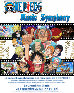 Un concert One Piece en Septembre.