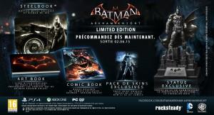 Une date et un collector pour le prochain Batman