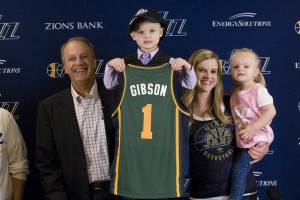 Le moment michou- bigou : Un contrat NBA à l'âge de 5 ans