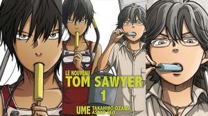 Manga : le nouveau Tom Sawyer 1 et 2