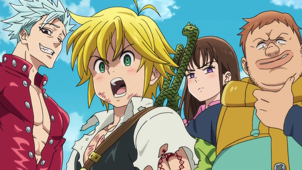 Meliodas_announcing_they_are_the_Seven_Deadly_Sins