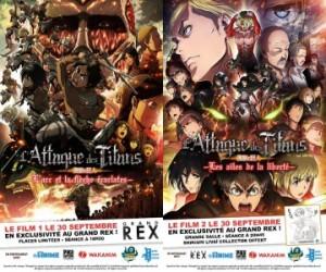 Manga: L'attaque des Titans au Grand Rex