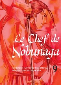 Jaquette Le Chef de Nobunaga T09 PRESSE