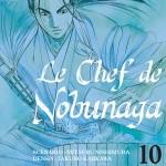 Jaquette Le Chef de Nobunaga T10 PRESSE