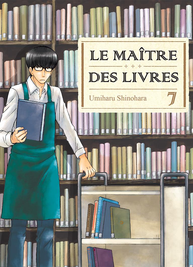 Jaquette Le Maitre des livres T07 PRESSE
