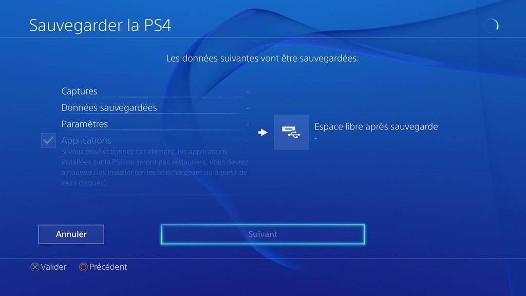 Sauvegarder-PS4