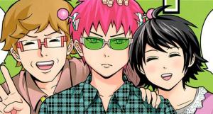 Manga: PSI Kusuo Saiki (Shonen Jump) adapté en animé