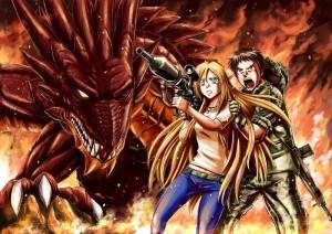 Manga : Gate – Au-delà de la porte T.01 & 02