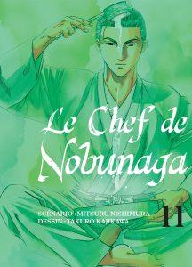 Jaquette Le Chef de Nobunaga T11 PRESSE