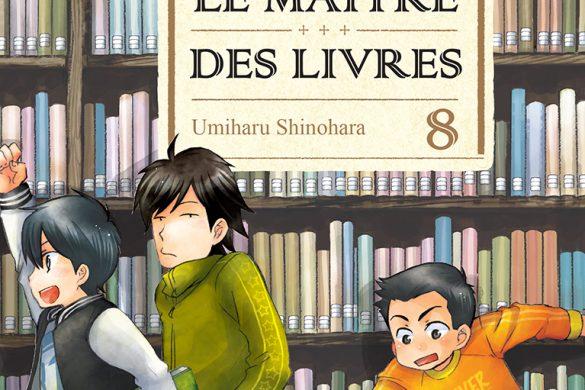 Jaquette Le Maitre des livres T08 PRESSE