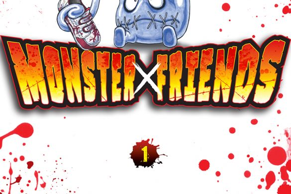 Jaquette Monster friends T01 PRESSE
