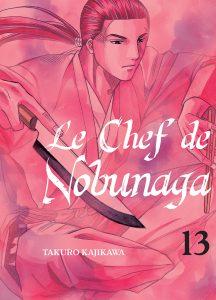 Jaquette Le Chef de Nobunaga T13 PRESSE