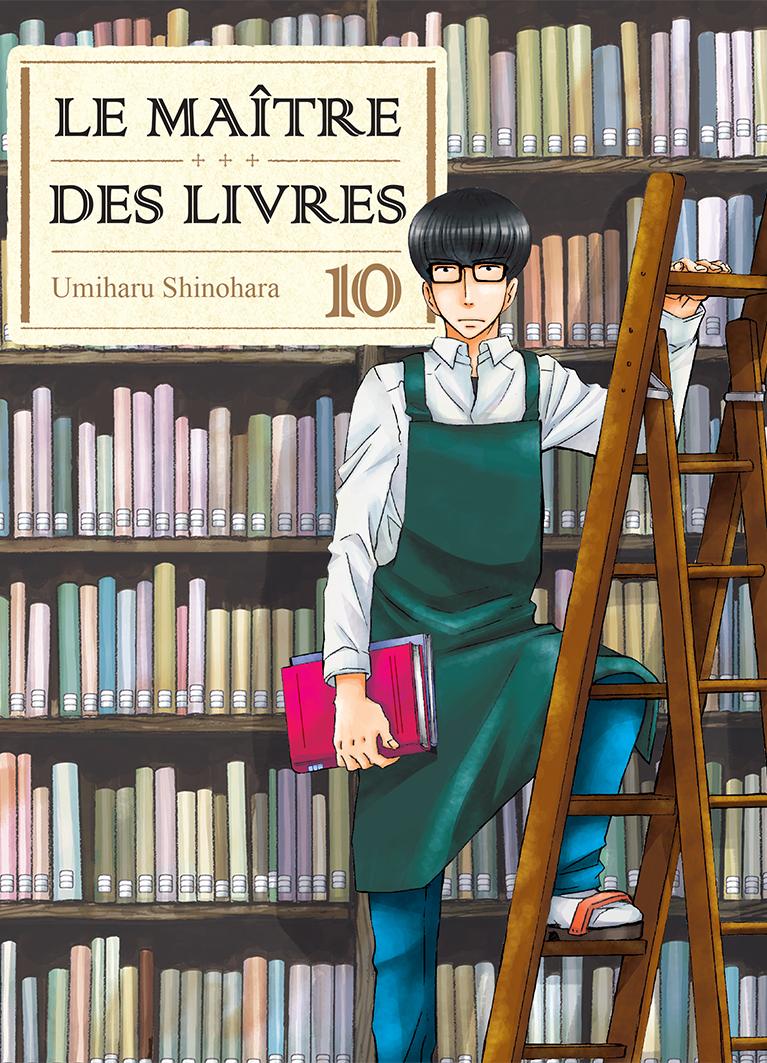 Jaquette Le Maitre des livres T10 PRESSE