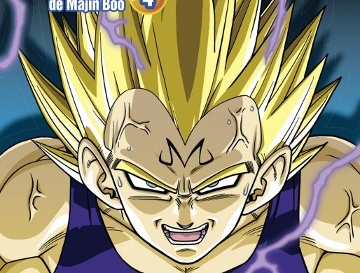 dbz anime comics t4
