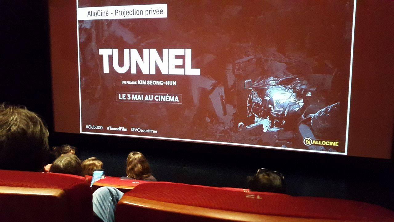 tunnel avant premiere