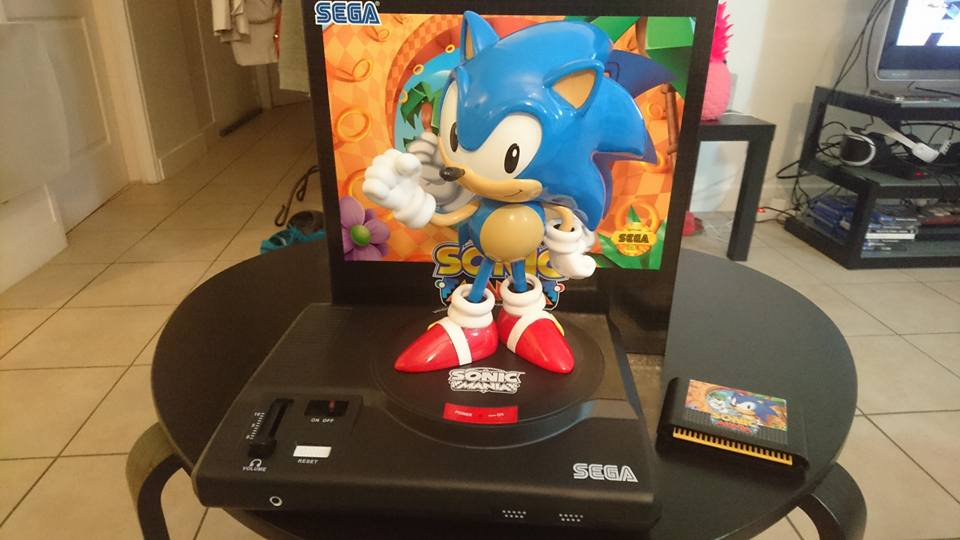 Sonic Mania collector kendo