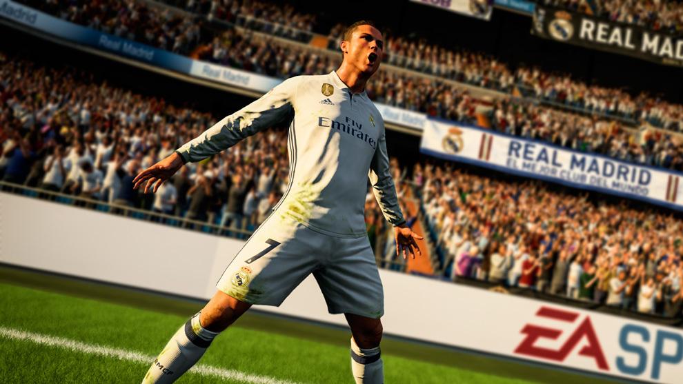 La gestuelle de Ronaldo parfaitement intégrée au jeu