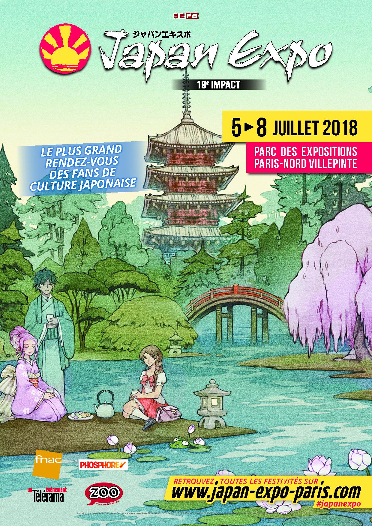 Prochain event…Japan Expo du 5 au 8 Juillet 2018