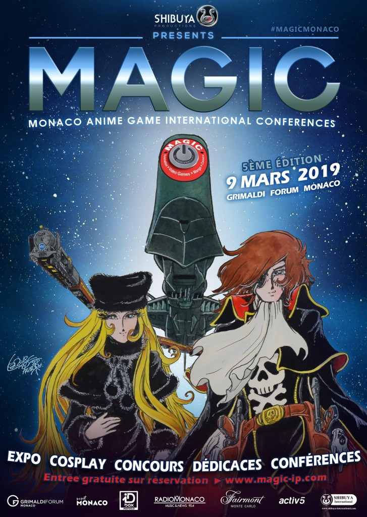 Prochain event…MAGIC MONACO le 9 Mars 2019